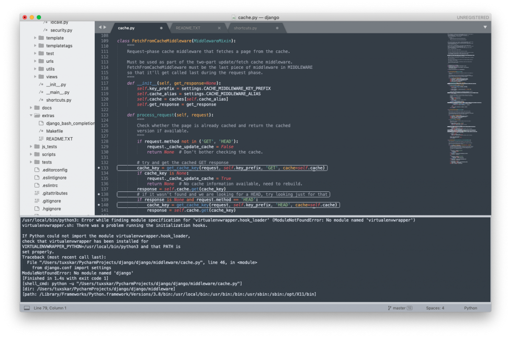 Sublime Text para Python