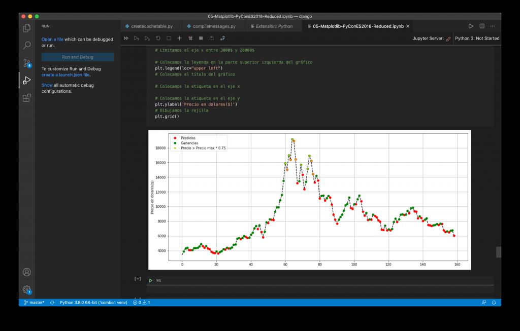 Jupyter Notebook y Visual Studio Code