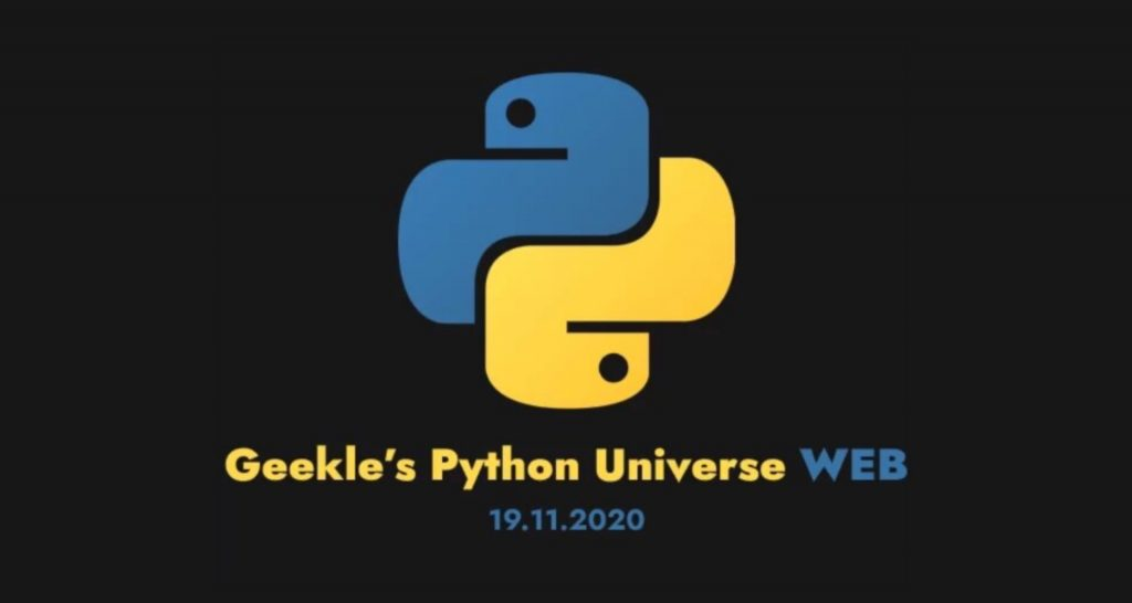 geekle python universe web