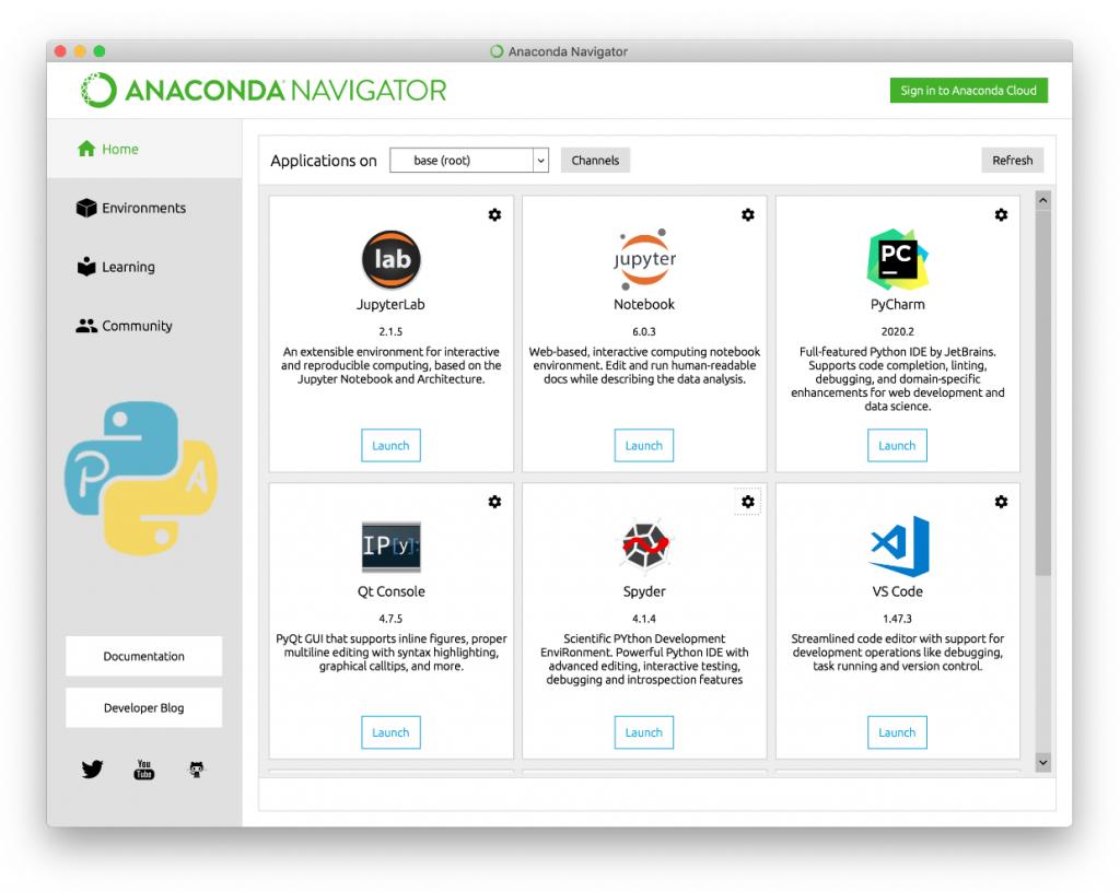 Anaconda Python