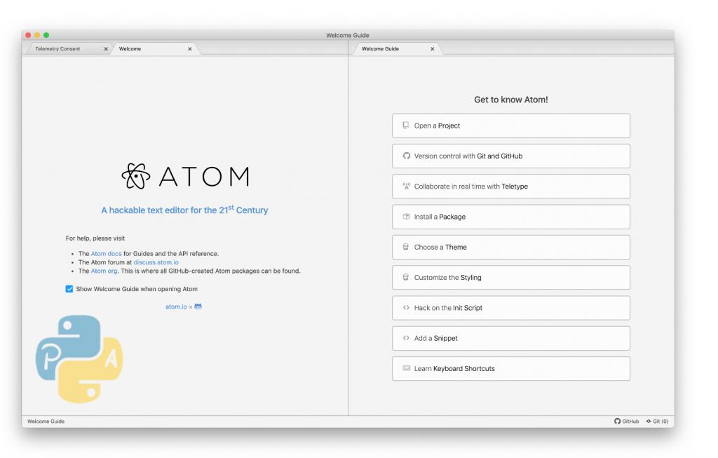 Download atom